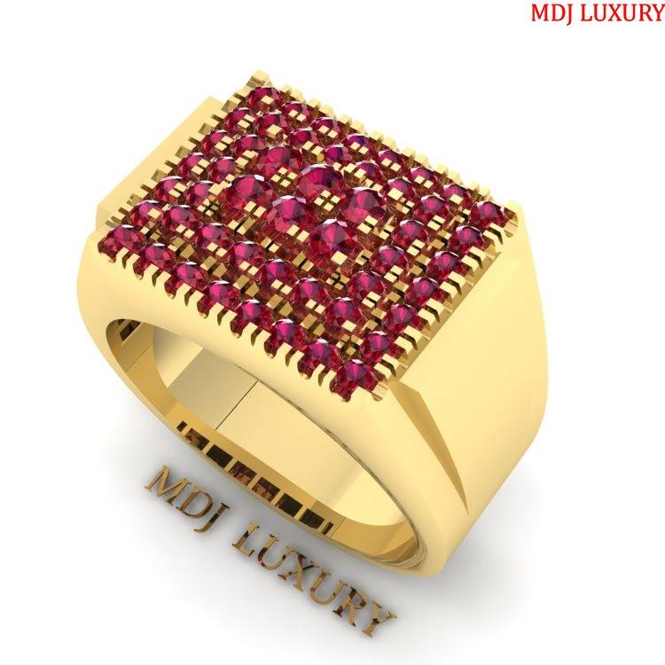 Nhẫn vàng Nam NN112 Nhẫn Nam kim cương
