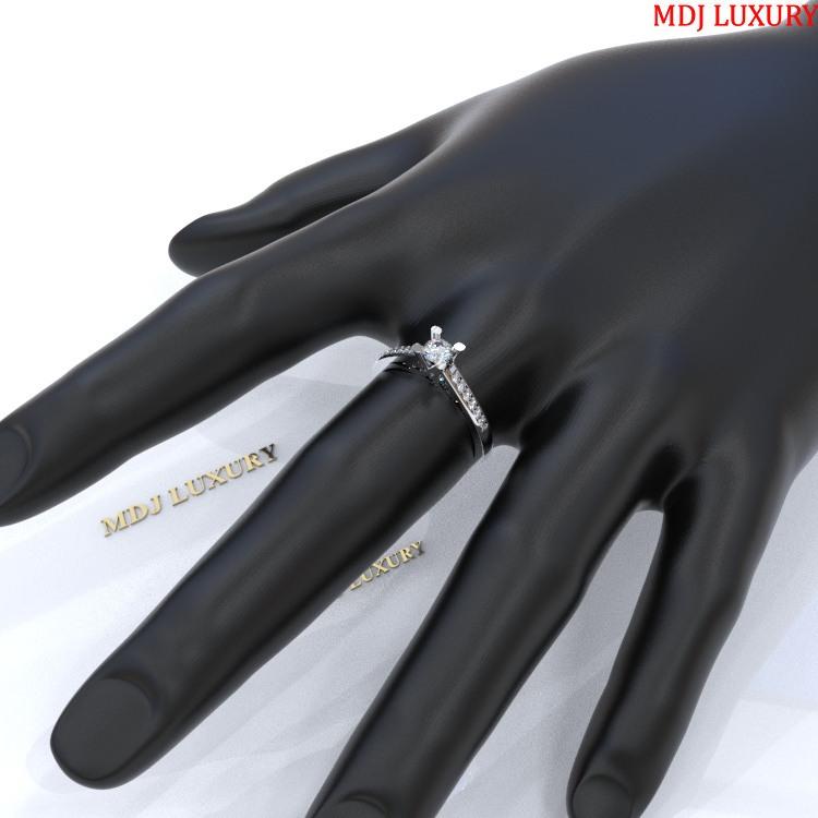 MDJ LUXURY - Trang sức vàng - Kim Cương Nhẫn vàng Nữ NNU03