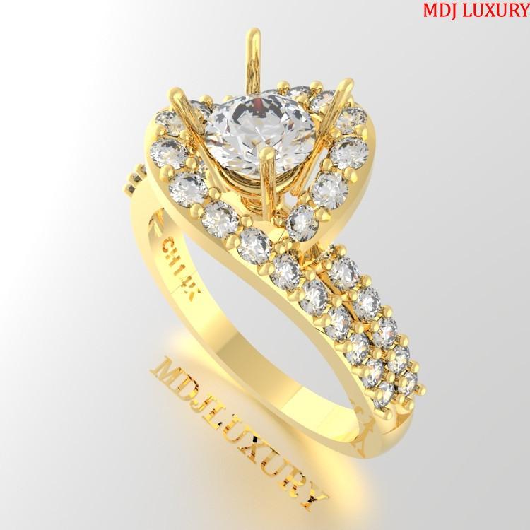 Nhẫn vàng Nữ NNU04 Nhẫn cầu hôn