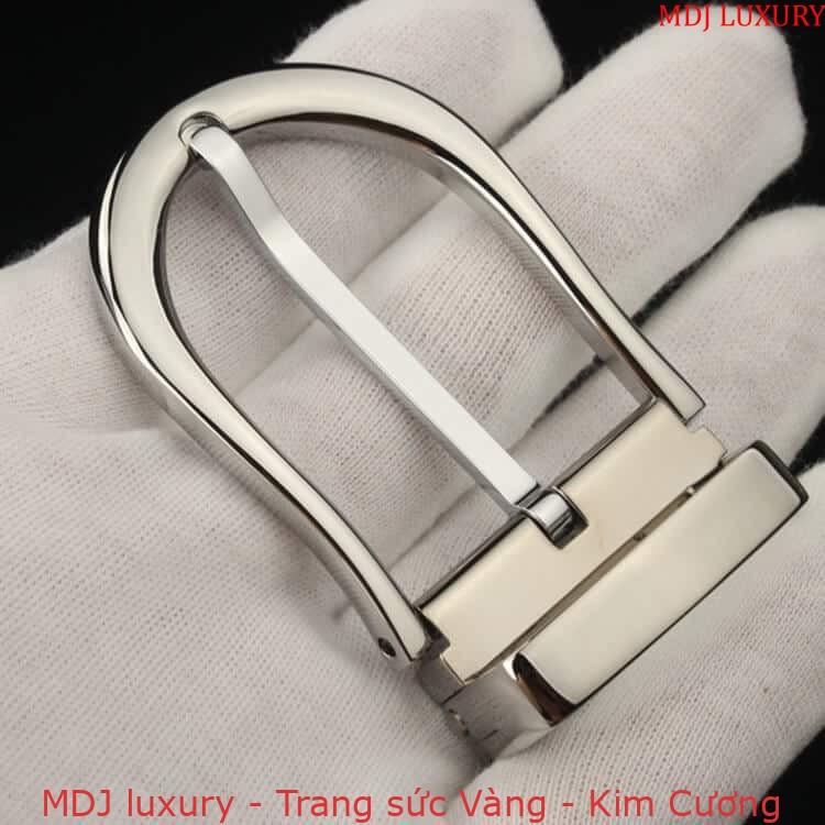 MDJ LUXURY - Trang sức vàng - Kim Cương Mặt thắt lưng bằng bạc TL05