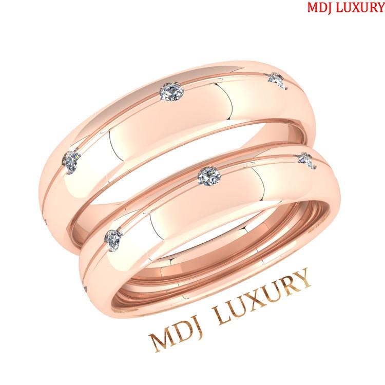 Nhẫn cưới đẹp – nhẫn cưới MDJ NC61 Nhẫn cưới dưới 3 triệu