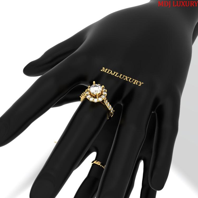 Nhẫn Vàng Nữ Đẹp NNU05 nhẫn vàng nữ đẹp