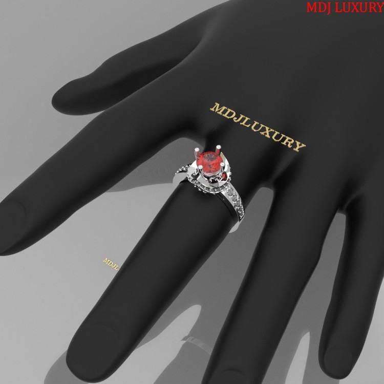 Nhẫn vàng nữ NNU11 nhẫn nữ kim cương