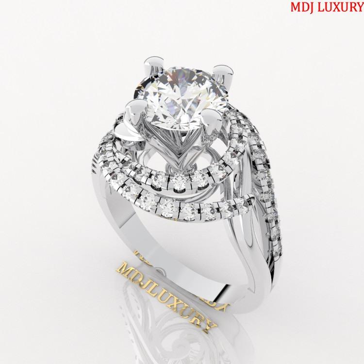 Nhẫn vàng nữ 18K NNU21 [tag]