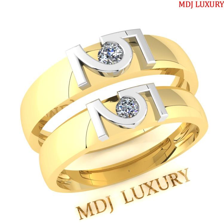 Nhẫn cưới vàng NC63 Bộ sưu tập nhẫn cưới 2019