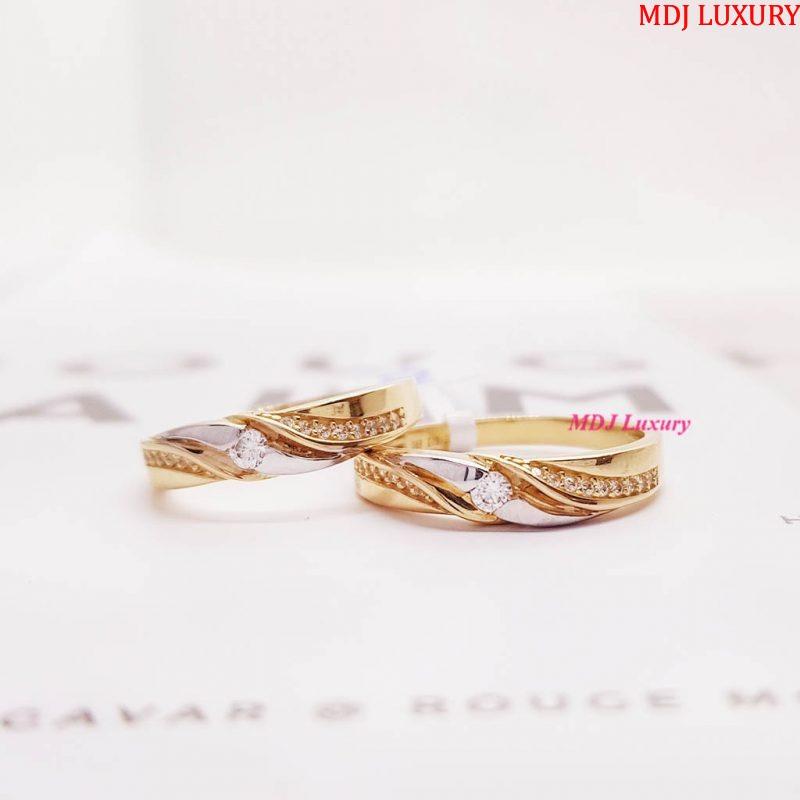 Nhẫn cưới vàng tây NCK14