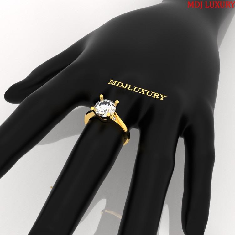 Nhẫn vàng Nữ NNU01 nhẫn nữ vàng hồng