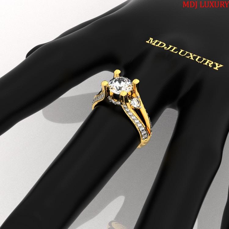 Nhẫn cầu hôn – Nhẫn vàng nữ NNU24 Nhẫn cầu hôn