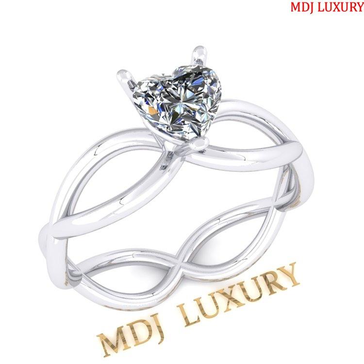 Nhẫn đính hôn – Nhẫn vàng nữ NNU25 Nhẫn cầu hôn