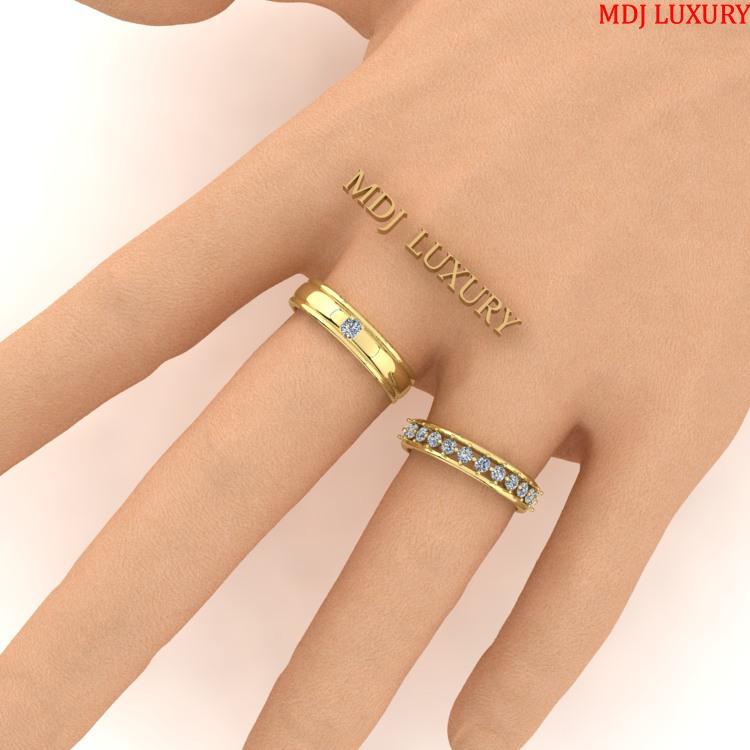 Nhẫn cưới Cặp Đẹp NC103 Nhẫn cưới Cặp Đẹp NC103 Nhẫn Cưới Vàng Đẹp ♥