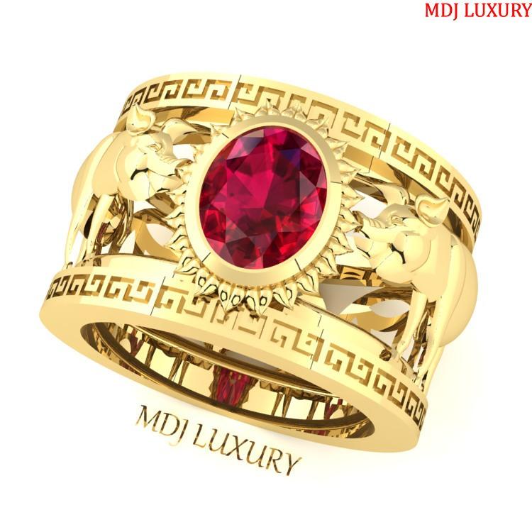 Nhẫn vàng nam tuổi Hợi NN174