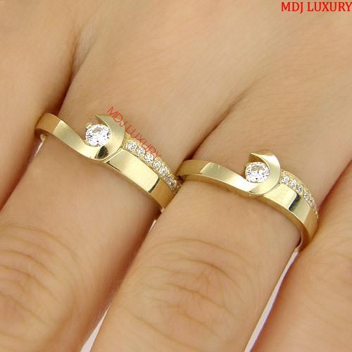 Nhẫn cưới MDJ56147 Bộ sưu tập nhẫn cưới 2019