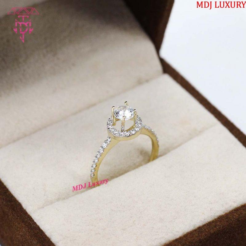 Nhẫn vàng nữ độc lạ NUK07 [tag]