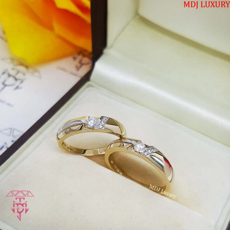 Nhẫn cưới vàng NCK01 nhẫn cưới đẹp