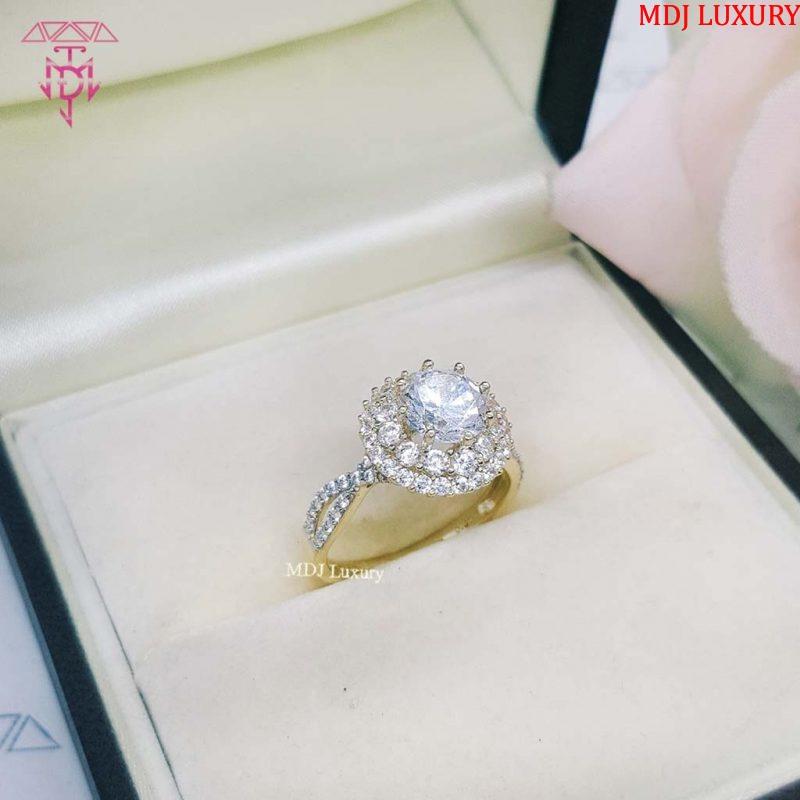Nhẫn vàng tây nữ NUK02 [tag]