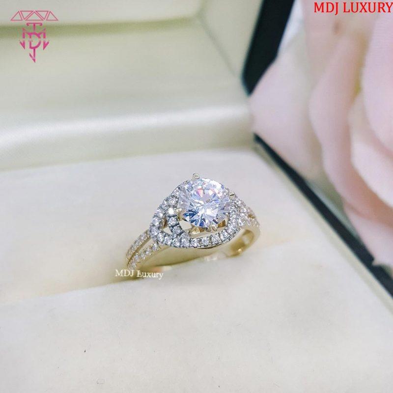 Nhẫn vàng tây nữ đẹp NUK05 [tag]