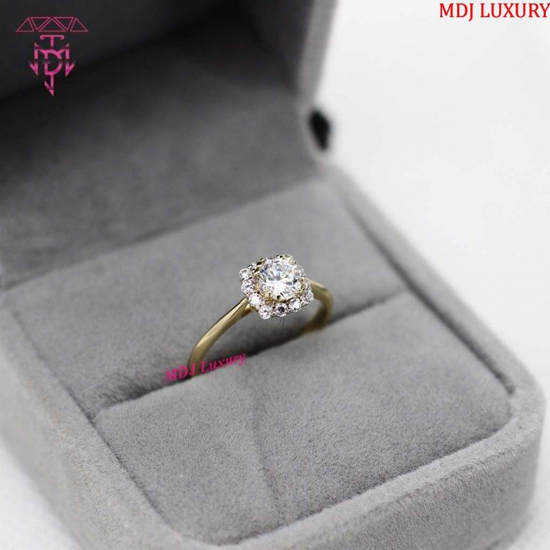 Nhẫn vàng nữ đơn giản NUK09 [tag]