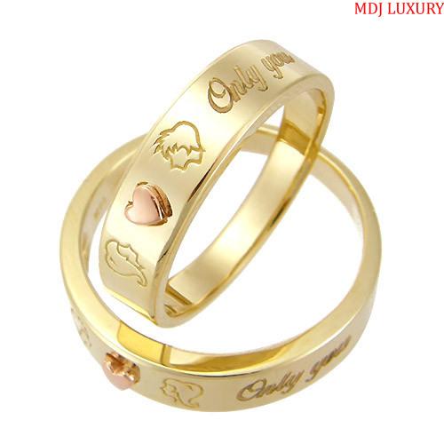nhẫn cưới vàng tây