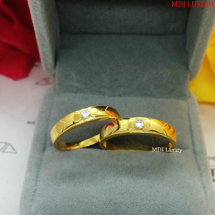 Nhẫn cưới vàng tây NCM02 Nhẫn cưới vàng tây NCM02 Nhẫn Cưới Vàng Đẹp ♥
