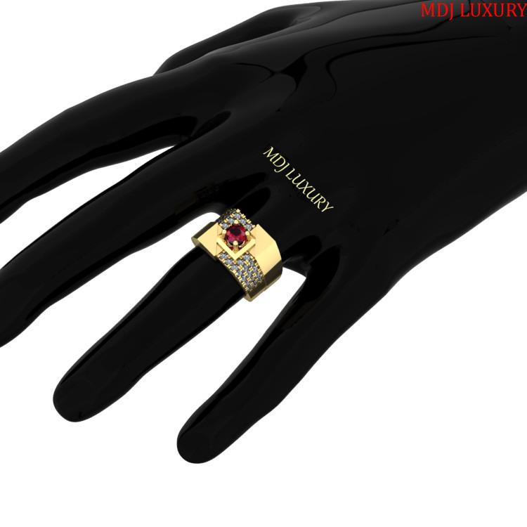Nhẫn Vàng Nam Scorpion – NN198 Nhẫn Nam vàng hồng