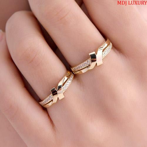 Nhẫn cưới vàng tây 10K NC22538 Nhẫn cưới vàng tây 10K NC22538 Nhẫn Cưới Vàng Đẹp ♥