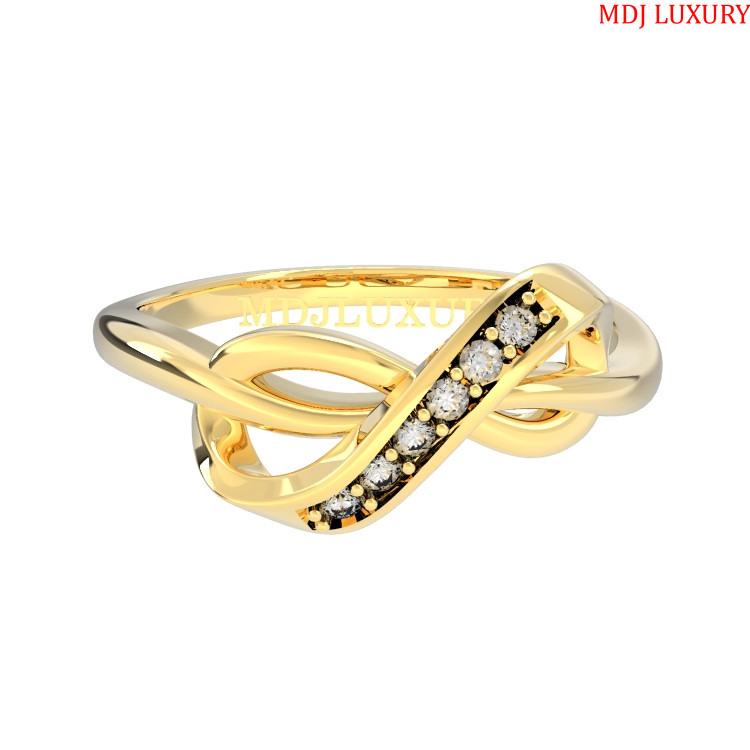 Nhẫn Đính Hôn Vàng Hồng NNU53 [tag] Nhẫn cầu hôn