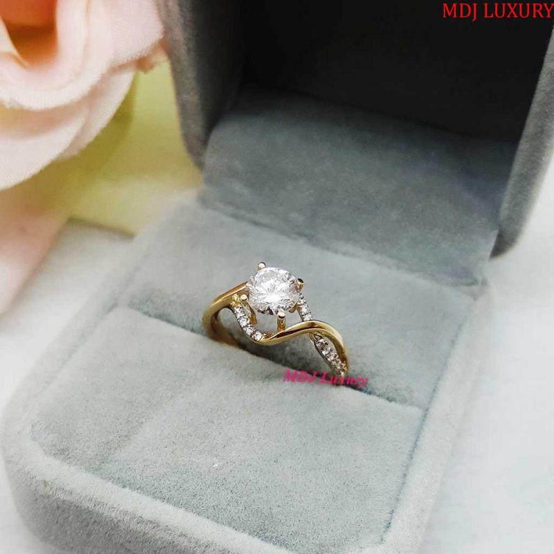 nhẫn nữ vàng tây nuk18