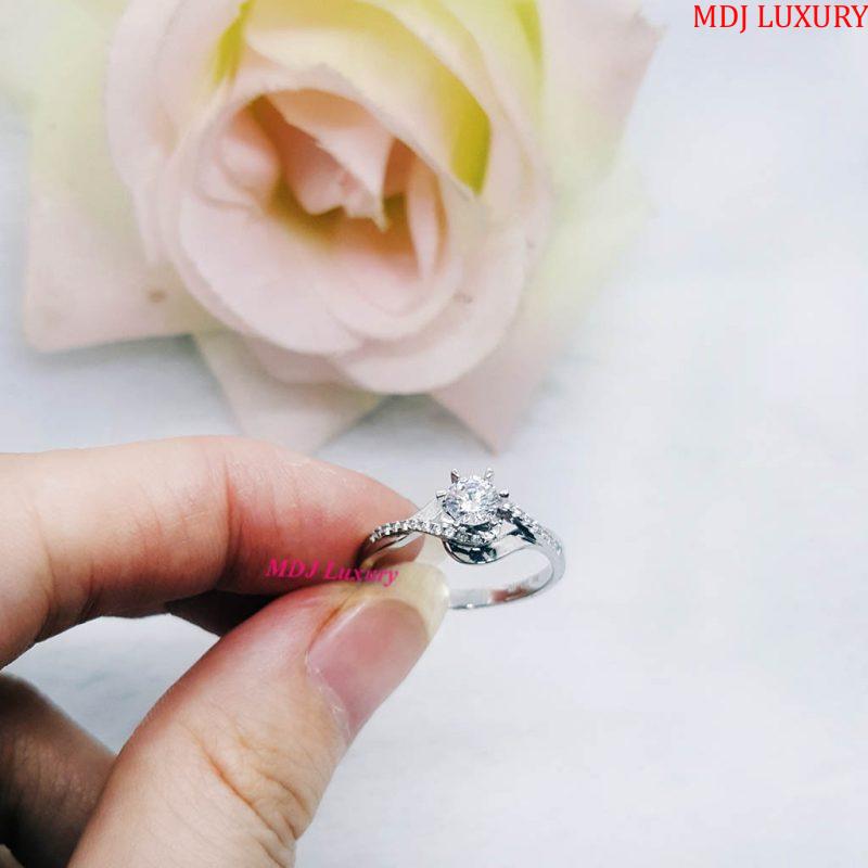 nhẫn nữ vàng tây NUK19