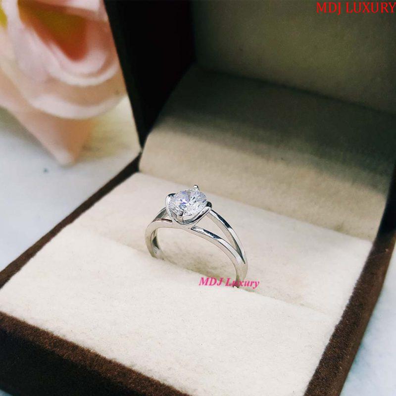 Nhẫn vàng tây nữ NUK20 nhẫn nữ vàng tây