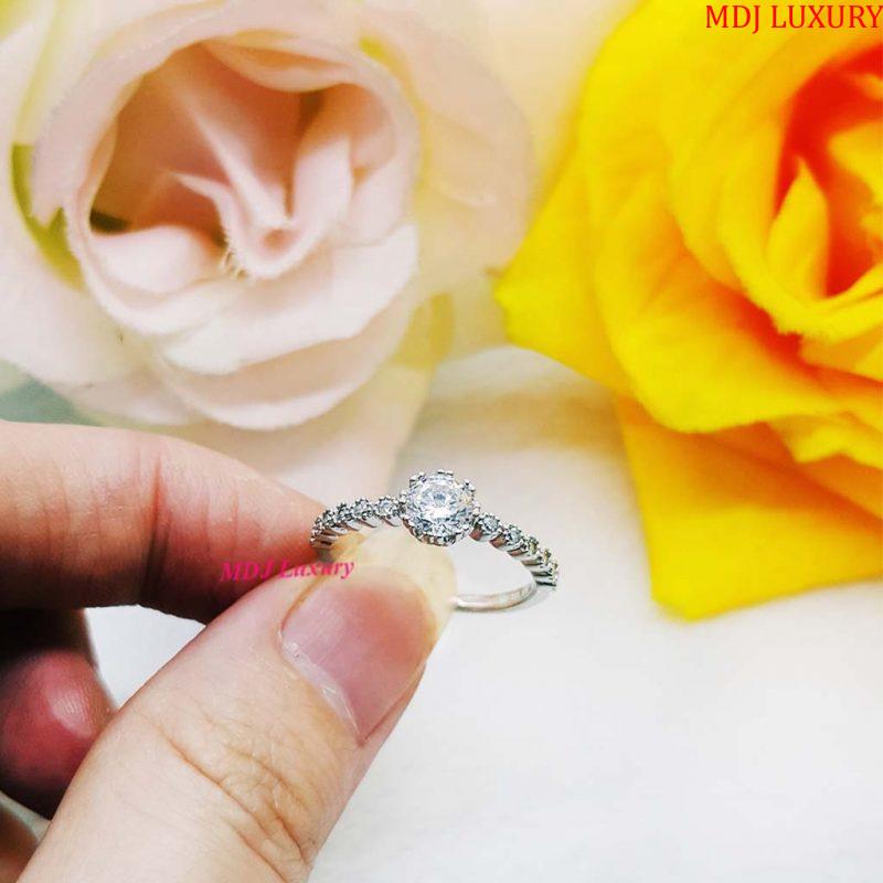 Nhẫn vàng tây nữ NUK21 nhẫn nữ vàng tây Nhẫn vàng nữ