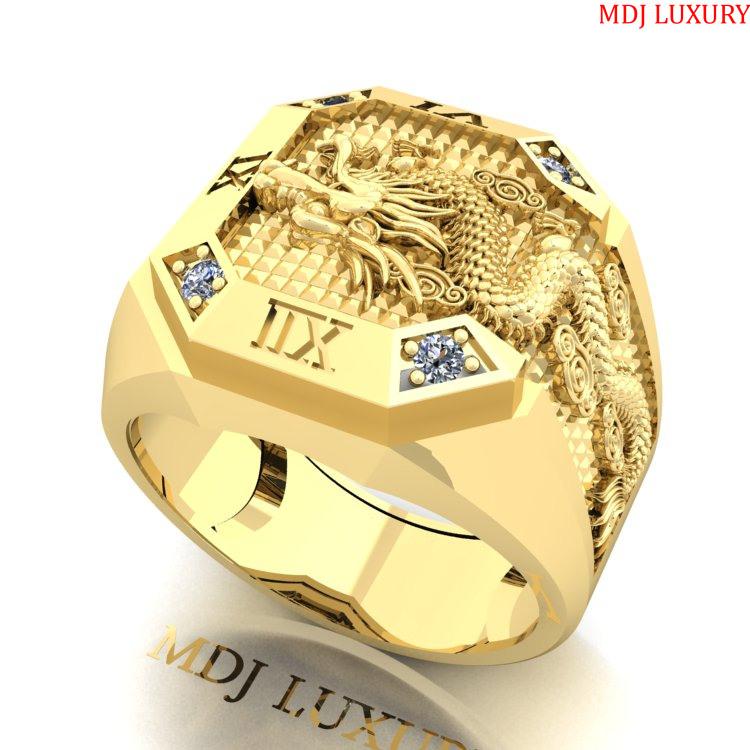 Nhẫn Vàng Nam Hà Nội NN227 nhẫn nam vàng tây