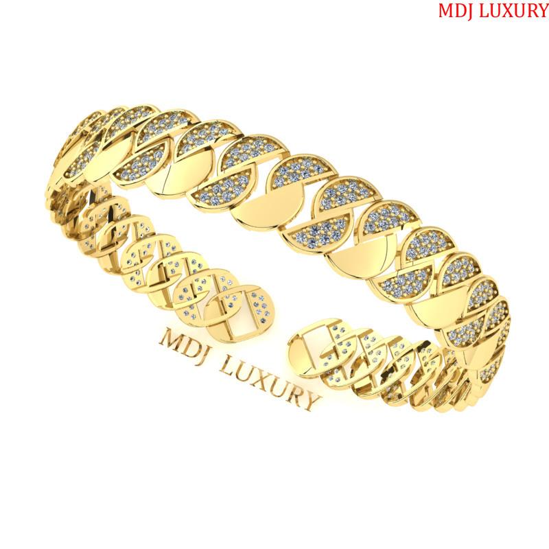 Lắc tay nam vàng 18K – Lắc tay MDJ 18K LTN08 Lắc tay nam vàng 18K – Lắc tay MDJ 18K LTN08 Lắc tay nam