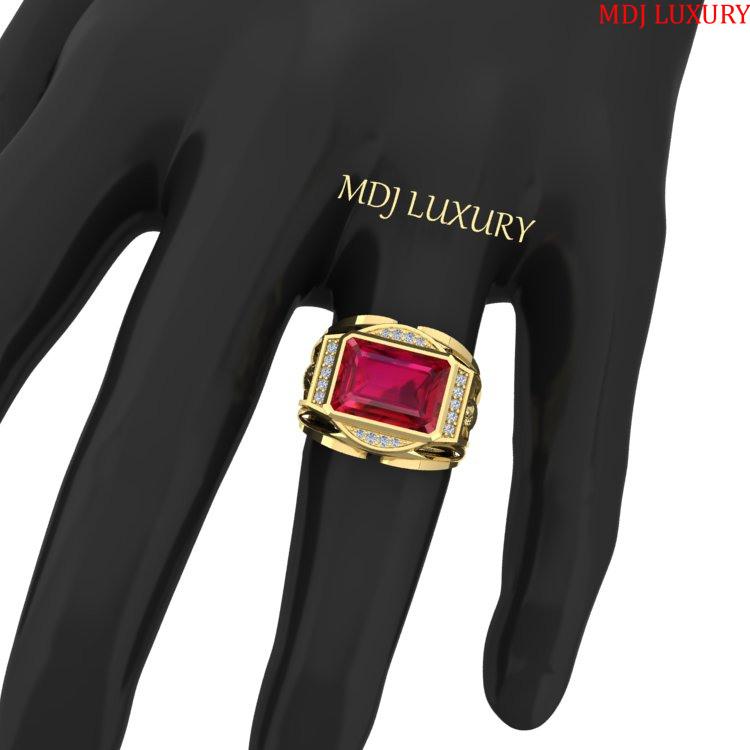 Nhẫn Nam Vàng 18K- Nhẫn Nam 18K NN233 Nhẫn Nam Vàng 18K- Nhẫn Nam 18K NN233 Nhẫn Vàng Nam