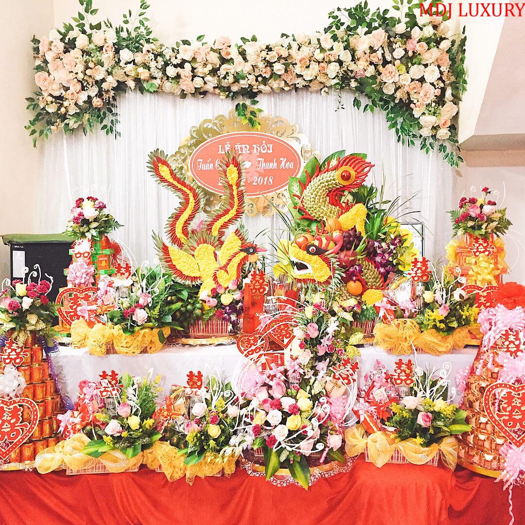 Lễ vật trong lễ đính hôn - lễ ăn hỏi