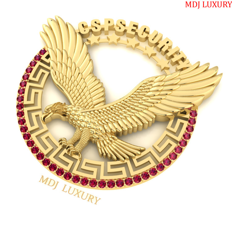 Mặt Dây Chuyền Đại Bàng Tung Cánh MDJ MDC21