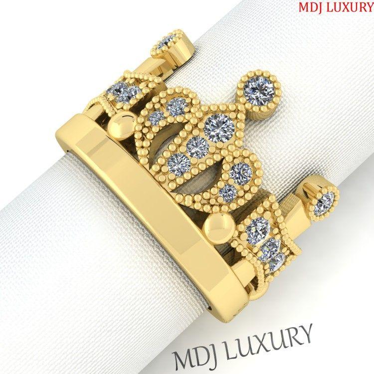 Nhẫn Vàng Nữ Vương Miện Hoa Khôi NNU170