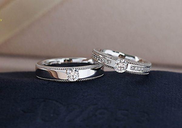 Dành 1-2 tháng trước ngày cưới để chọn nhẫn cưới ưng ý