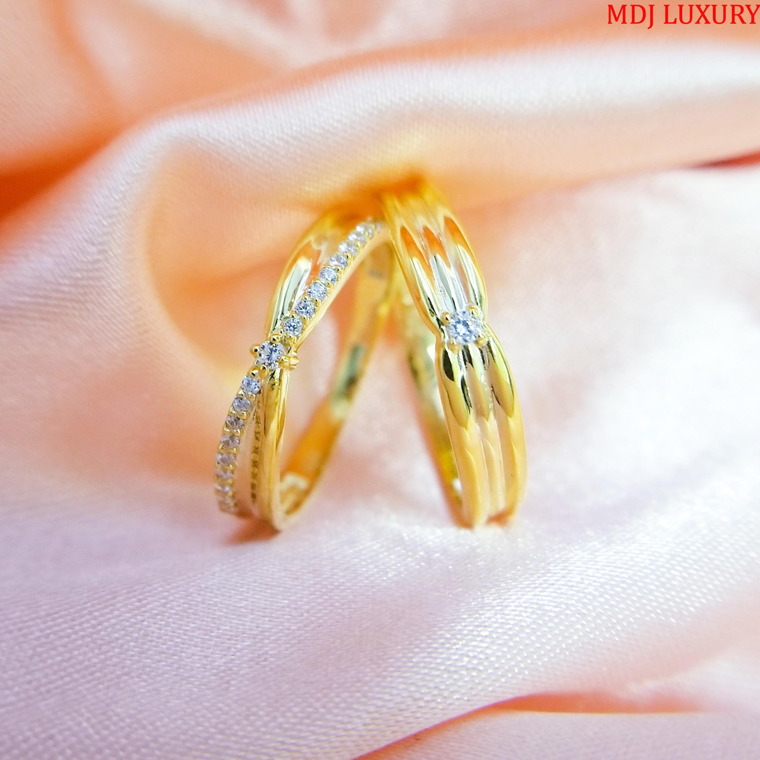 nhẫn cưới vàng 18k giá 5 triệu